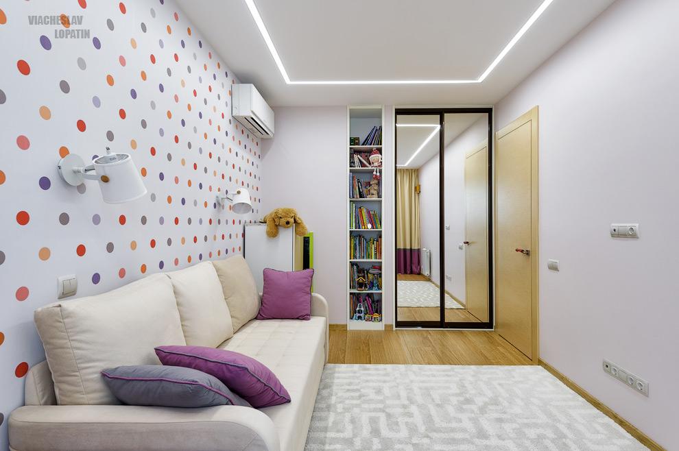 Интерьерная съемка квартиры: детская