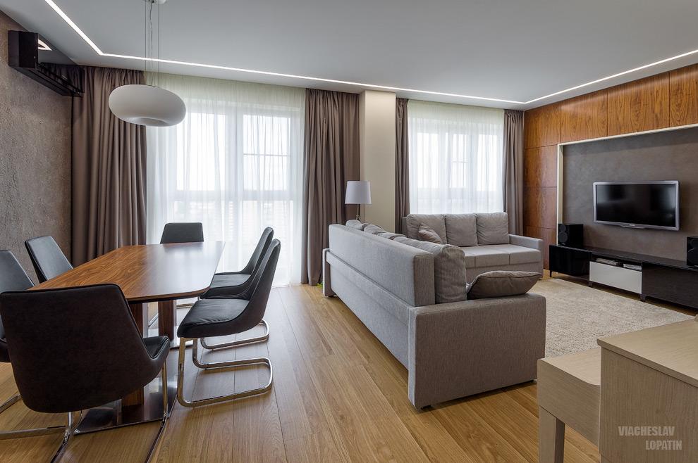 Интерьерная съемка квартиры: гостиная