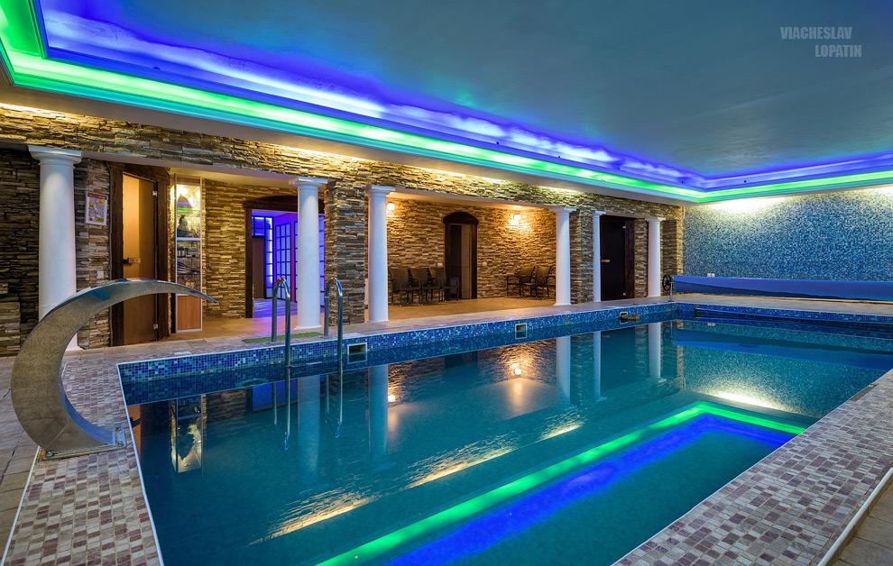 Фотосъемка интерьера: бассейн