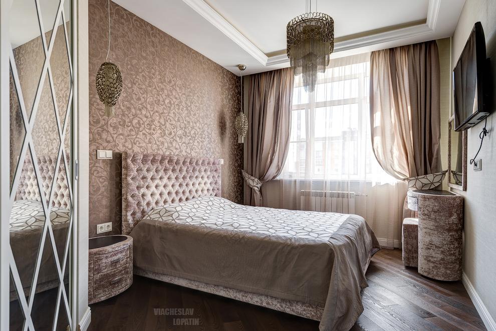 Интерьерная съемка: спальня