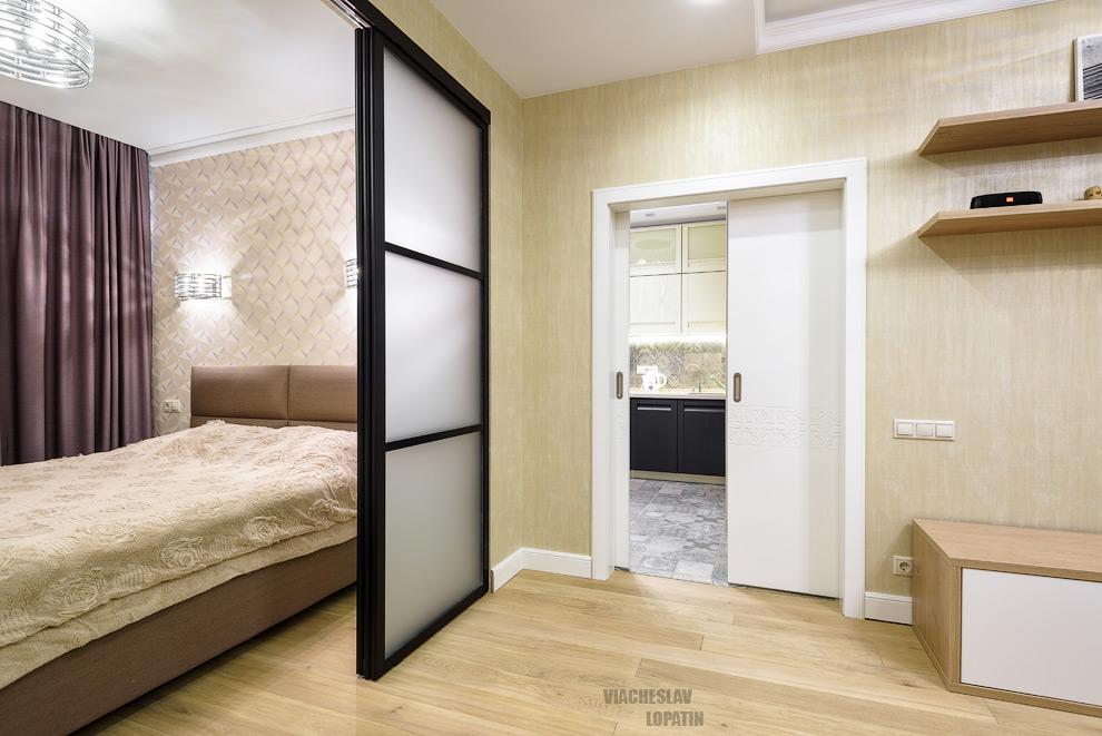 Интерьерная съемка: гостиная и спальня