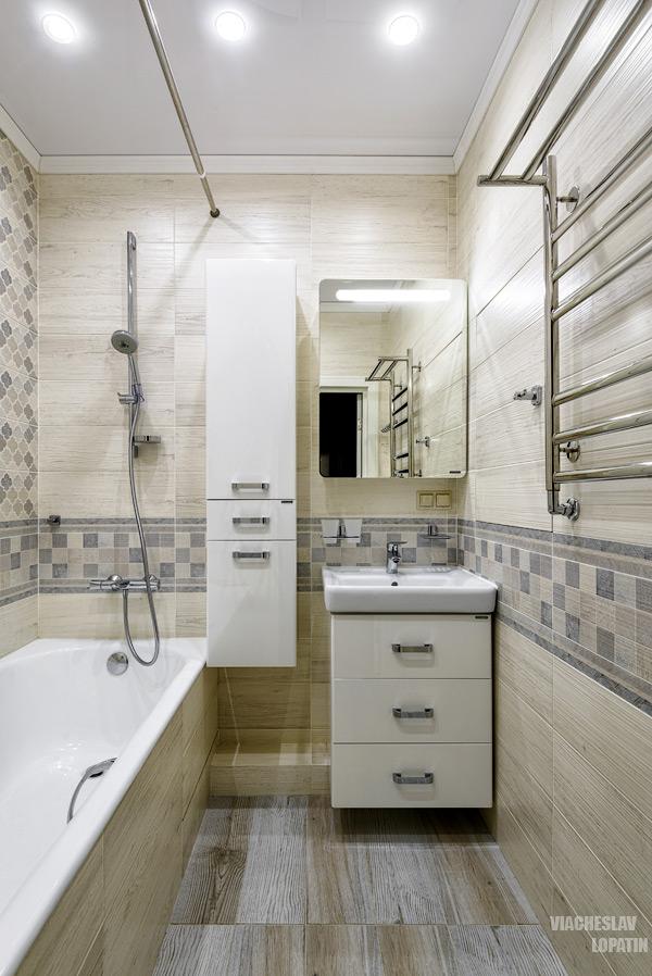 Интерьерная съемка: ванная комната