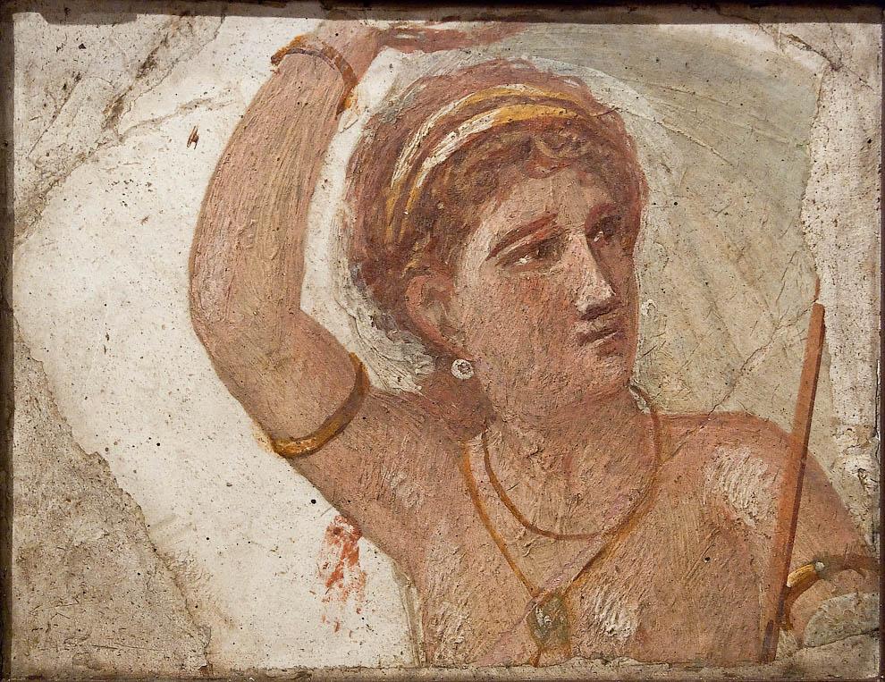 Помпеи: фреска